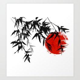Japanese art  Art Print
