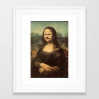 swanson Framed Art Prints featuring Mona Swanson by RAOqwerty