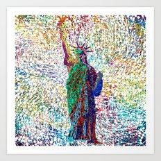 the Liberty Art Print