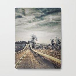 Old Road Metal Print