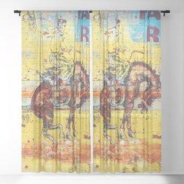 Fair & Rodeo Sheer Curtain
