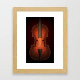 Straordinarius Stradivarius Framed Art Print