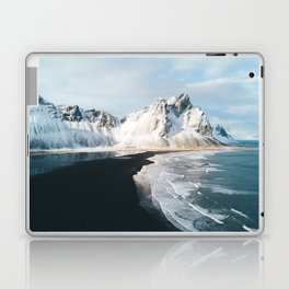 Iceland Mountain Beach - Landscape Photography Laptop & iPad Skin