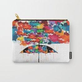 Rainbow rainy day Carry-All Pouch