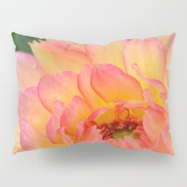 """Coral Tipped"" Dahlia by Teresa Thompson Pillow Sham"
