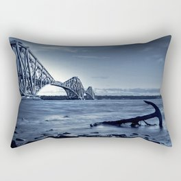The Forth Rail Bridge Scotland Rectangular Pillow