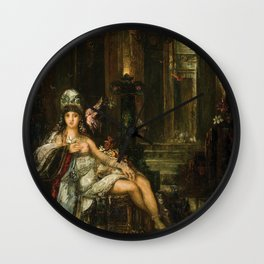 Gustave Moreau - Dalila Wall Clock