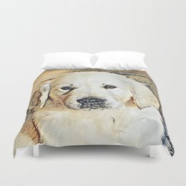 Impressive Animal - Cute Puppy Duvet Cover