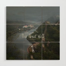 A different view of The Great Wall of China Wood Wall Art