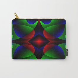 Iridescent Bloom Carry-All Pouch