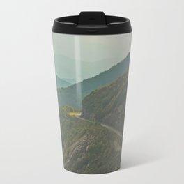 Blue Ridge Mountain Route (Asheville, North Carolina) Travel Mug