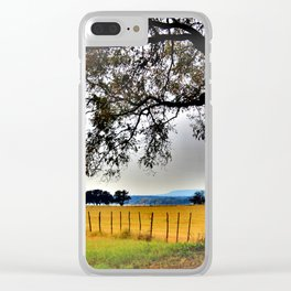 Along The Brazos Clear iPhone Case
