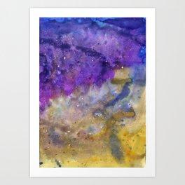 The Ink Constellation Art Print