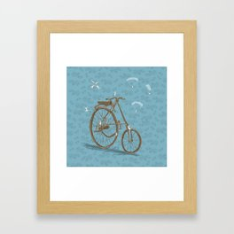 From up there Framed Art Print