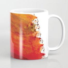 Rainbow of red hair Coffee Mug