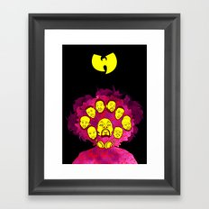 Wu-Tang Purple Haze Framed Art Print