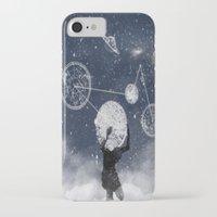 atlas iPhone & iPod Cases featuring Atlas by Slug Draws