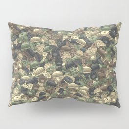 Fast food camouflage Pillow Sham