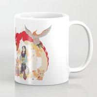 mulan Mugs featuring Team Mulan by Citron Vert