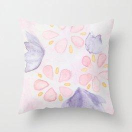 florecimiento Throw Pillow