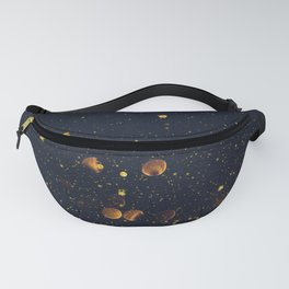Pennies and Stars Falling From Heaven Fanny Pack