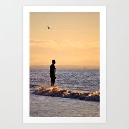 Iron Men of the Sea Art Print
