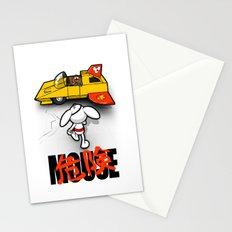 Danger-kira Mouse Stationery Cards