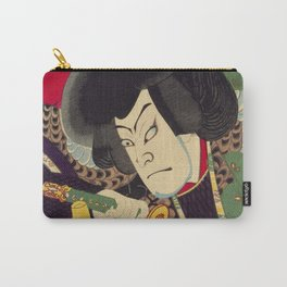 Ukiyoe Carry-All Pouch