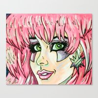 jem Canvas Prints featuring Jem by MSG Imaging