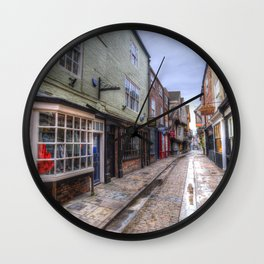 The Shambles Street York Wall Clock