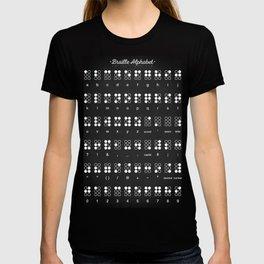 Braille Alphabet T-shirt