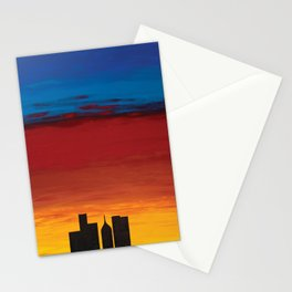 City Morning Stationery Cards