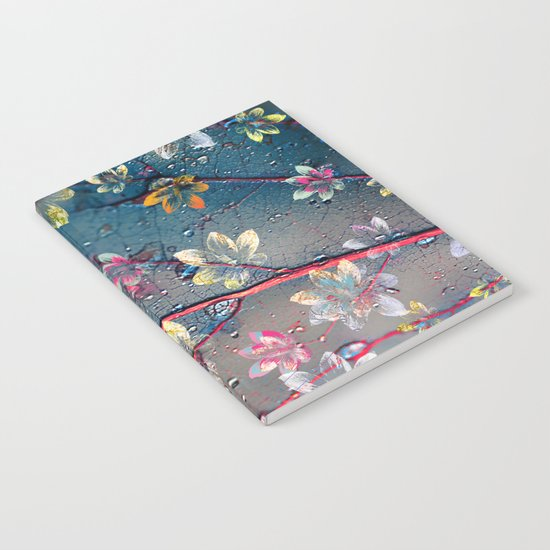 Floral abstract(34). Notebook
