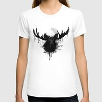 moose T-shirts featuring Moose by Nicklas Gustafsson