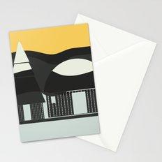 Oriental Pagoda Stationery Cards
