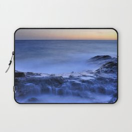 Blue seaside Laptop Sleeve