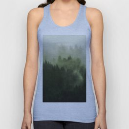 Drift - Green Mountain Forest Unisex Tank Top