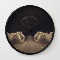 jasmine Wall Clocks featuring 'Jasmine' by Thom Easton