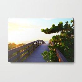 Path To Paradise Metal Print