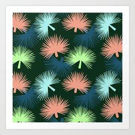 oversized palms Art Print
