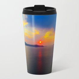 Fira,Sunset Travel Mug