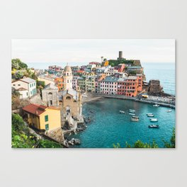 Vernazza, Italy (Landscape) Canvas Print
