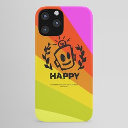 International Day of HAPPINESS iPhone Case