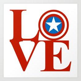 Love the Cap Art Print