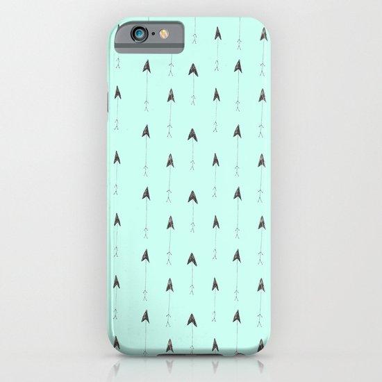 mint magic arrows iPhone & iPod Case