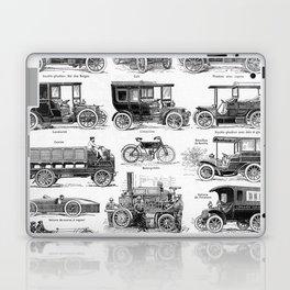 Vintage Automobiles Laptop & iPad Skin