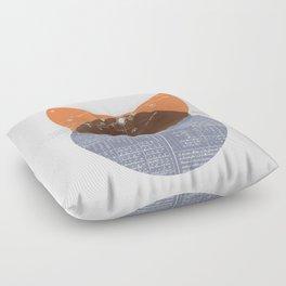 Eclipse I Floor Pillow