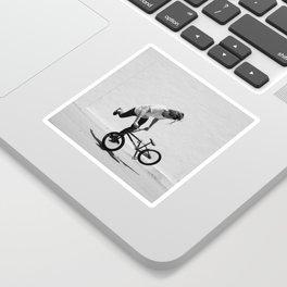 Flatland BMX Rider Sticker