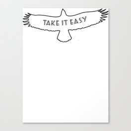 The Eagles - Take it easy Canvas Print