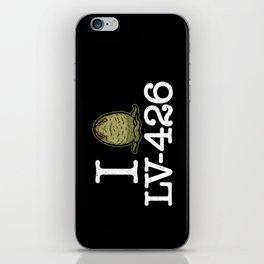 I Love LV-426 iPhone Skin